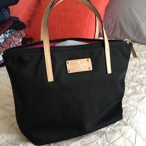 Kate Spade black nylon handbag